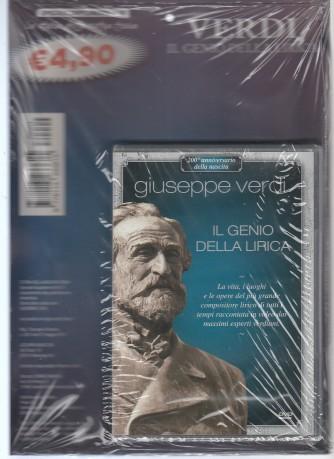 DVD  - GIUSEPPE VERDI il genio della lirica