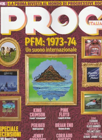 PROG MUSIC Italia n. 9 - PFM: 1973-74 Un suno internazionale