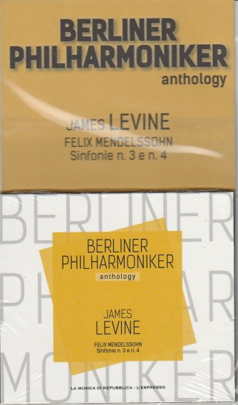 Berliner Philharmoniker anthology vol.6-James Levine(Felix Mendelssohn Sinf.3/4)
