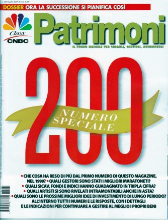 PATRIMONI - mensile n. 200 - Aprile 2017 by CLASS editori