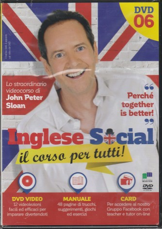 6° DVD Inglese Social + Manuale - Hachette editore