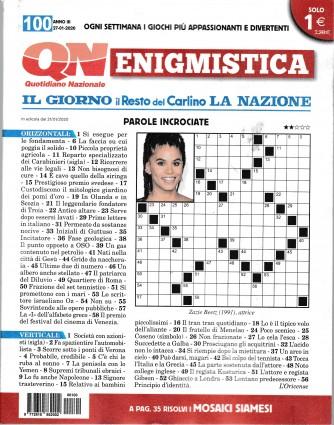 Enigmistica - n. 100 - 27/1/2020 - settimanale