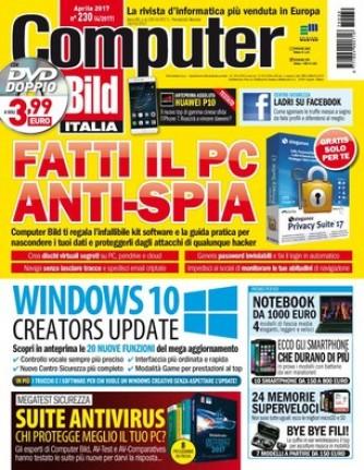 Computer Bild DVD N° 230 LE 20 NUOVE FUNZIONI DEL PROSSIMO WINDOWS