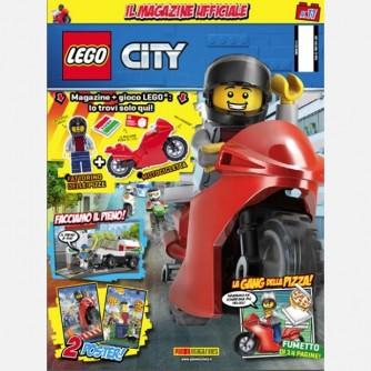 LEGO City - Il Magazine Ufficiale Numero 11 + minifigure Il Fattorino delle pizze