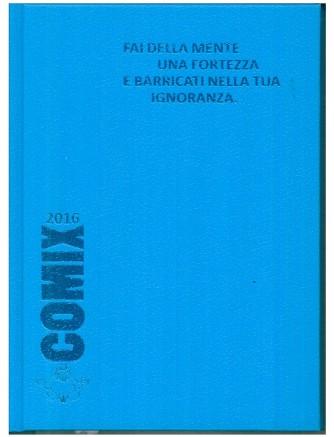 Diario scolastico COMIX 2016 - versione Standard 14x18 cm.  Celete