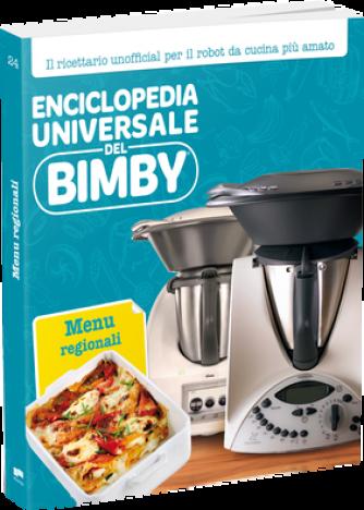 Enciclopedia Universale del Bimby N° 24 Menu Regionali
