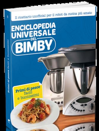Enciclopedia Universale del Bimby N° 5 PRIMI DI PESCE