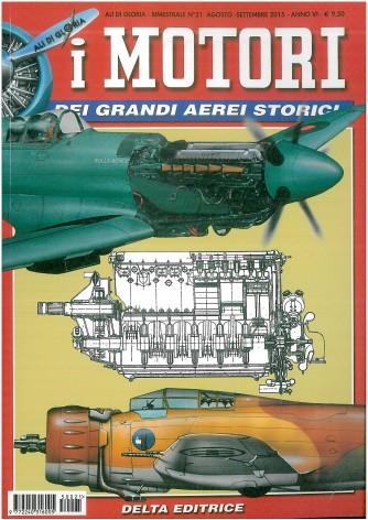 ALI DI GLORIA: n.21 I motori dei grandi aerei-bimestrale Ago./Sett.2015