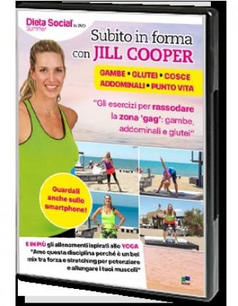 Dieta Social in DVD N° 2 Subito in forma con Jill Cooper