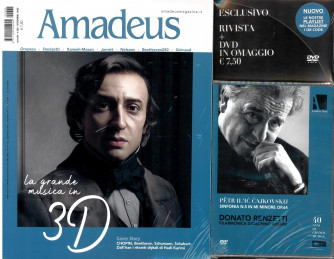 Amadeus - n. 365 - mensile  Dicembre 2020 + DVD Sinfonia n. 5 Cajkovskij