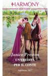 Harmony History - Un'eredità per il conte Di Janice Preston