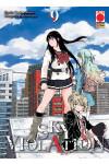 Sky Violation - N° 9 - Sky Violation - Manga Drive Planet Manga