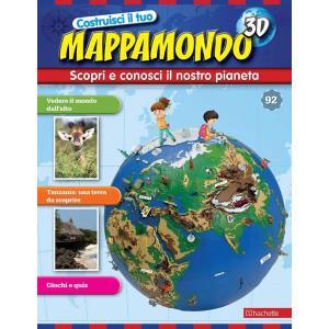 Costruisci il Mappamondo 3D 2^ edizione uscita 92