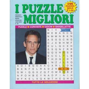 I puzzle migliori - n. 180 - bimestrale - marzo - aprile  2021 - 196 pagine