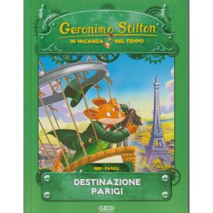 Geronimo Stilton - In vacanza nel tempo -Destinazione Parigi -  n. 12 - settimanale - 22/9/2021