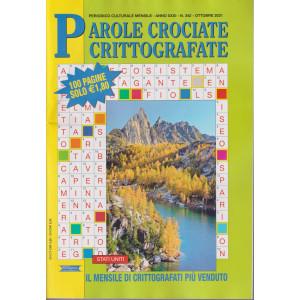Parole Crociate crittografate - n. 342- mensile -ottobre  2021 - 100 pagine