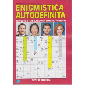 Enigmistica Autodefinita - n. 376 - mensile -giugno   2021
