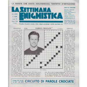 La Settimana Enigmistica - n. 4648 - 22/4/2021 - settimanale