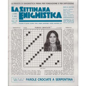 La Settimana Enigmistica - n. 4645 - 1/4/2021 - settimanale