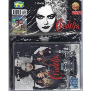 Sorrisi e canzoni tv + il dvd Crudelia - rivista + dvd