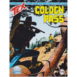 Tex Nuova Ristampa -Golden pass - n. 466 - mensile - febbraio 2021