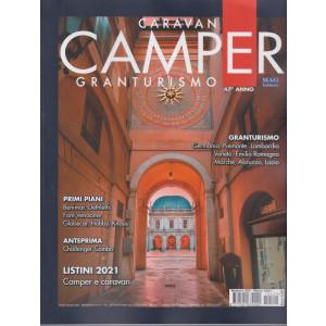 Caravan e Camper  - Granturismo - n. 529 -marzo 2021- mensile