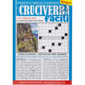 I Cruciverba facili - n. 12 - maggio 2021 - mensile