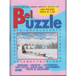 Bel Puzzle - n. 94 - bimestrale - febbraio - marzo 2021 - 100 pagine