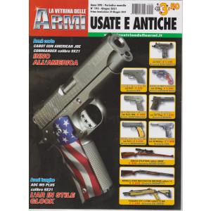 La vetrina delle armi usate e antiche - n. 193 - giugno  2021 - mensile