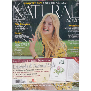Natural Style +  Gadget - Agenda 2021 - con copertina rigida -  n. 211 - mensile - gennaio 2021