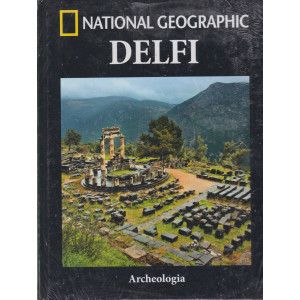 National Geographic -Delfi  - n. 20 -Archeologia -  settimanale -11/6/2021 - copertina rigida
