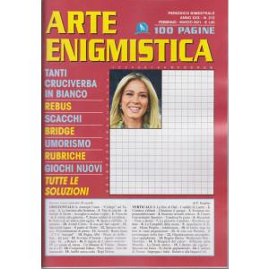 Arte Enigmistica - n. 212 - bimestrale - febbraio - marzo 2021 - 100 pagine