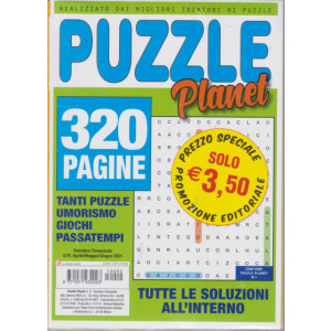 Abbonamento Puzzle Planet (cartaceo  trimestrale)
