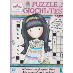 Gorjuss puzzle giochi e test - n. 2 - giugno - luglio 2021 - bimestrale