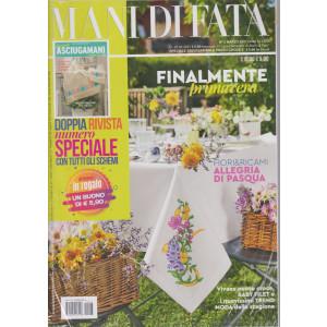 Mani di Fata - n. 3 - marzo 2021 - mensile + Speciale asciugamani a punto croce - 2 riviste