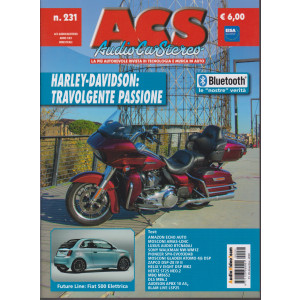Acs - Audio Car Stereo - n. 231 - bimestrale - 30 dicembre 2020