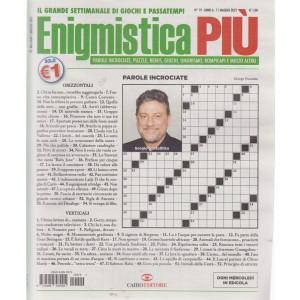 Enigmistica Piu' - n. 19  - settimanale -11 maggio  2021