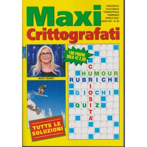 Maxi Crittografati - n. 53 - trimestrale - febbraio - aprile 2021 - 196 pagine