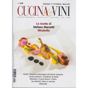 Cucina & Vini - Le ricette di Stefano Marzetti. Mirabelle  -    n. 178 - bimestrale - febbraio - marzo 2021