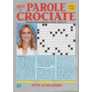 Quiz e  Parole Crociate - n. 38 - bimestrale -maggio - giugno  2021