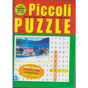 Piccoli Puzzle -  mensile n.279 - febbraio 2021