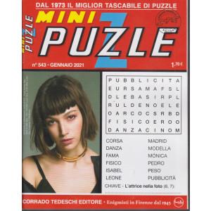 Minipuzzle - n. 543 - gennaio 2021 - mensile