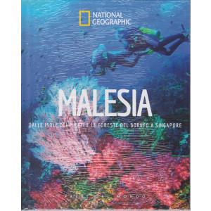 National Geographic - Malesia - Dalle isole dei pirati e le foreste del Borneo a Singapore-  n. 39 - 28/5/2021 - settimanale - copertina rigida