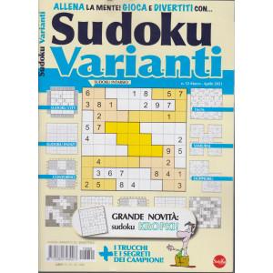 Sudoku Varianti - n. 52 - marzo - aprile  2021 - bimestrale