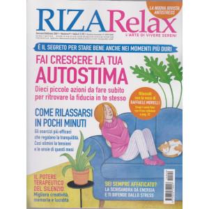 Riza Relax - Fai crescere la tua autostima - n. 9 - gennaio - febbraio 2021 - bimestrale