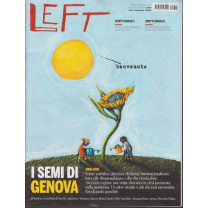 Left - n. 28 -16 luglio - 22 luglio 2021 - settimanale