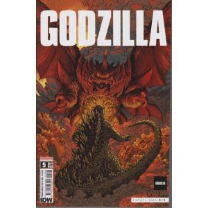 Godzilla - n. 5- Cataclisma 3/3 -  mensile - 18/2/2021