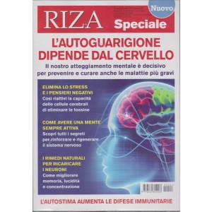 Riza Speciale - L'autoguarigione dipende dal cervello - n. 21 - bimestrale - dicembre - gennaio 2021