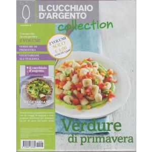 Il cucchiaio d'argento collection - n. 16  2 volumi - Verdure di primavera - Vegetariani all'italiana