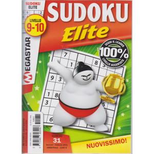 Sudoku Elite - n. 31 - livello 9-10 - gennaio - febbraio 2021- bimestrale